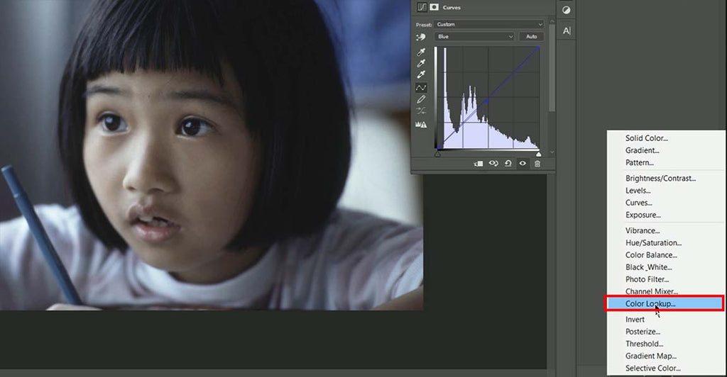 Using LUTs in Adobe Photoshop CS6 / CC