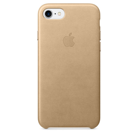 Coque d'origine Apple en cuir pour  iPhone 7  - Tan