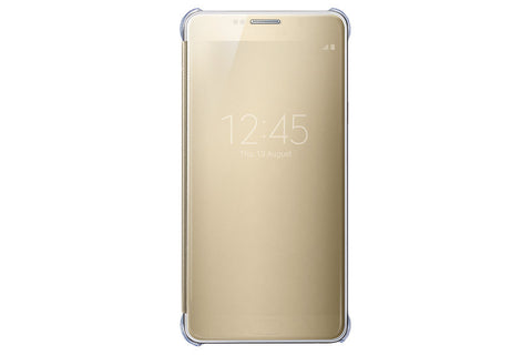 Samsung Clear View Cover pour Samsung Note 5 - Gold