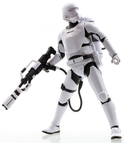 "#16 First Order Flametrooper Star Wars Black Series 6"" Loose"