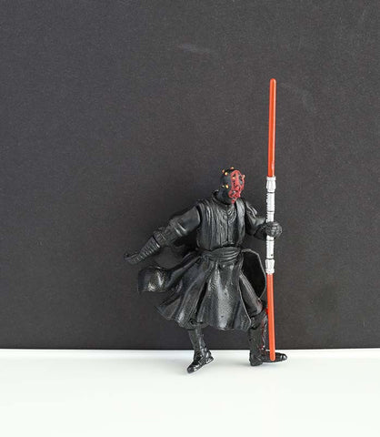 "Darth Maul Star Wars Movie Heroes 3.75"" Loose"