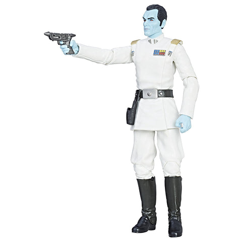 "#47 Grand Admiral Thrawn Star Wars Black Series 6"" Loose"