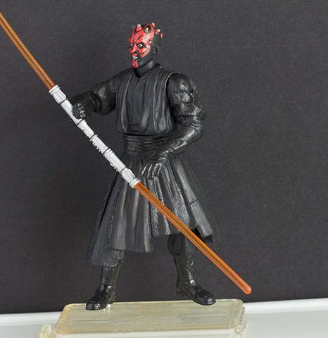 Darth Maul Hanger Duel Star Wars Saga Loose