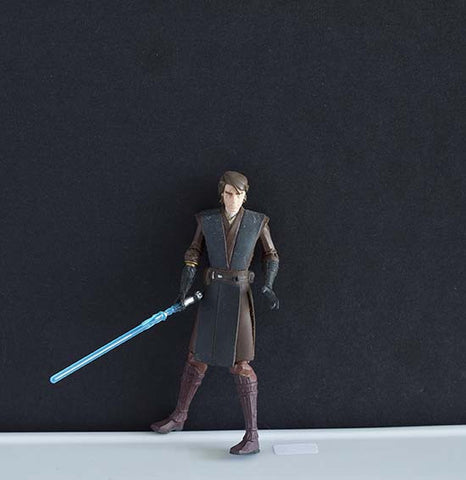 "Anakin Skywalker Star Wars The Clone Wars Collection 3.75"" Loose"