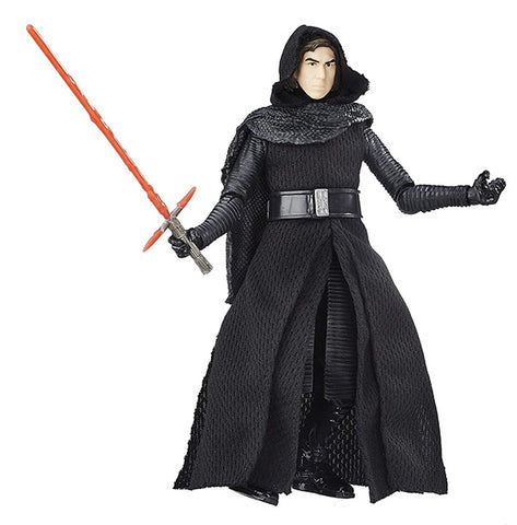 "#26 Kylo Ren Unmasked Star Wars Black Series 6"" Loose"