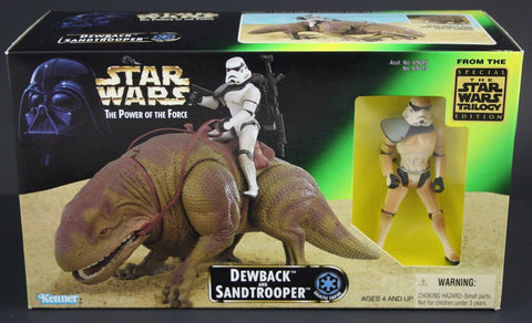 Dewback and Sandtrooper POTF2 NEW