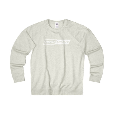 """TURNT SOCIETY"" French Terry Crewneck"