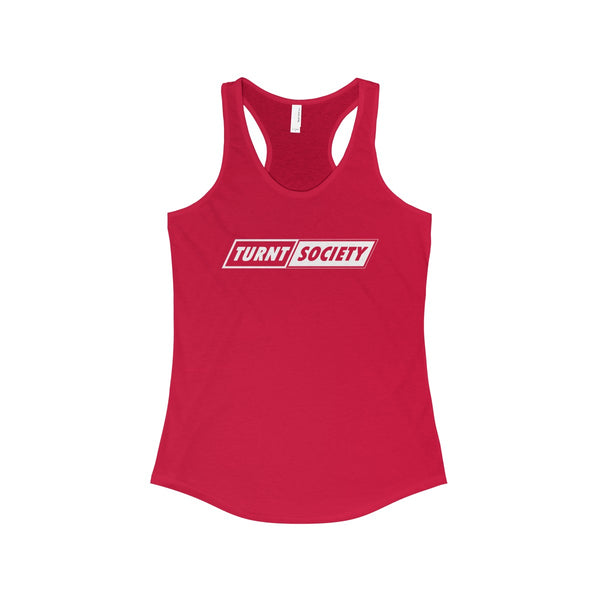 """TURNT SOCIETY"" Women's Racerback Tank"