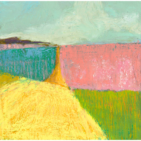 Pink and Green Field