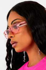 Pink Transparent Sunnies