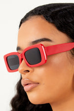 Red Feels Sunglasses