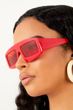 Outstanding Sunglasses- Red/ Red