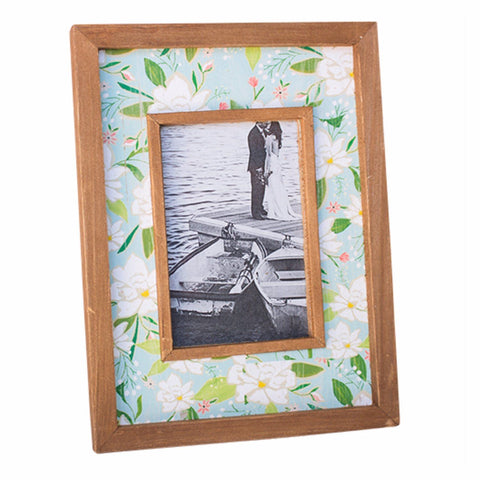 Photo Frame Wooden Floral Cottage - Chintz Chic - The Renmy Store