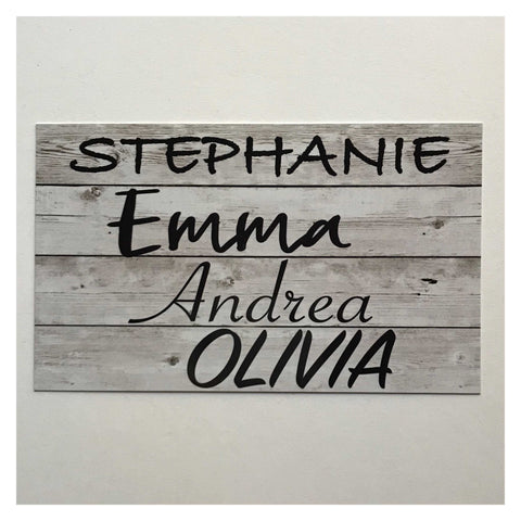 Coop Chicken Hen Rooster House Custom Names Sign Wall Plaque or Hanging - Custom Year Grey - The Renmy Store