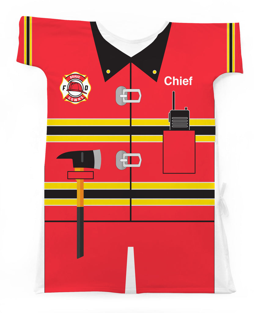 ALL NEW FIREMAN & POLICE OFFICER GOWNS
