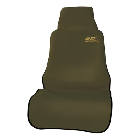 3D Seat Protector Front - Brown