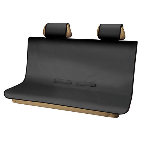 3D Seat Protector Rear (Large) - Black