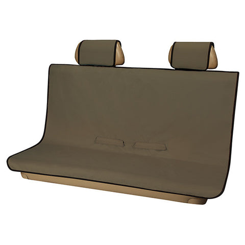 3D Seat Protector Rear (Medium) - Brown