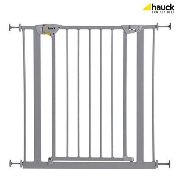 Hauck Trigger Lock Safety Gate Silver