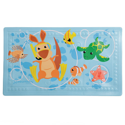 Dreambaby Anit Slip Bath Mat with Too Hot Indicator
