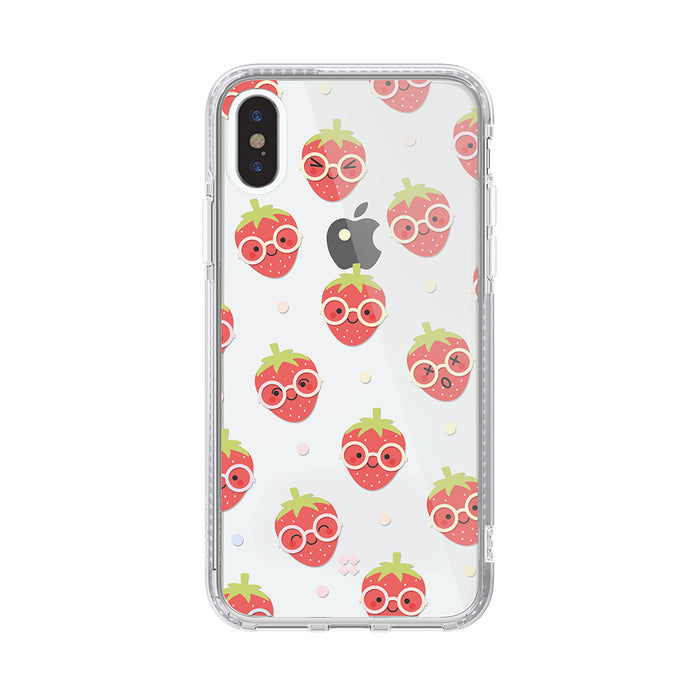 iPHONE XS PRISMART CASE: STRAWBERRY