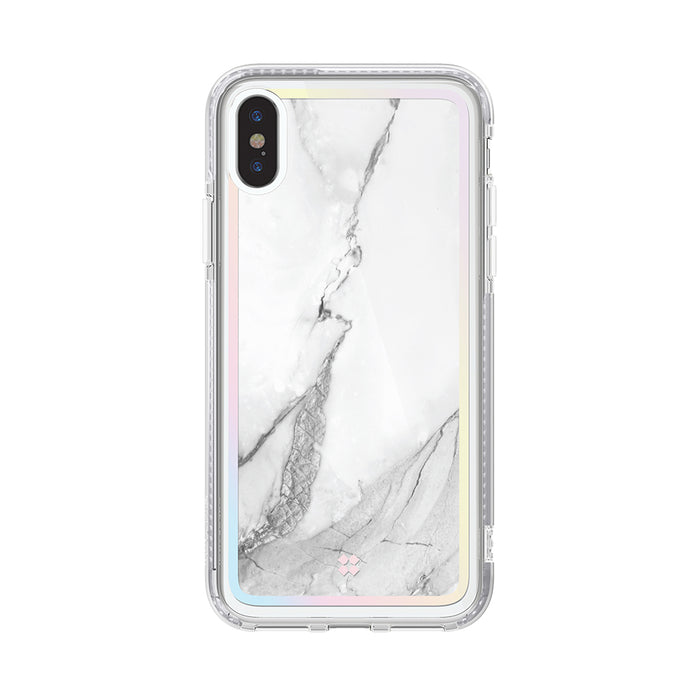 iPHONE XS PRISMART CASE: MARBLE WHITE