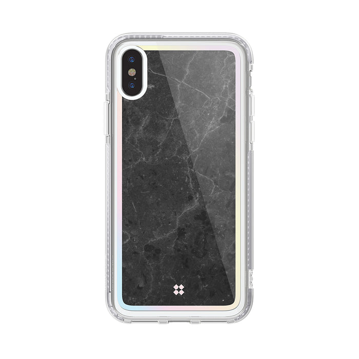 iPHONE XS PRISMART CASE: MARBLE BLACK