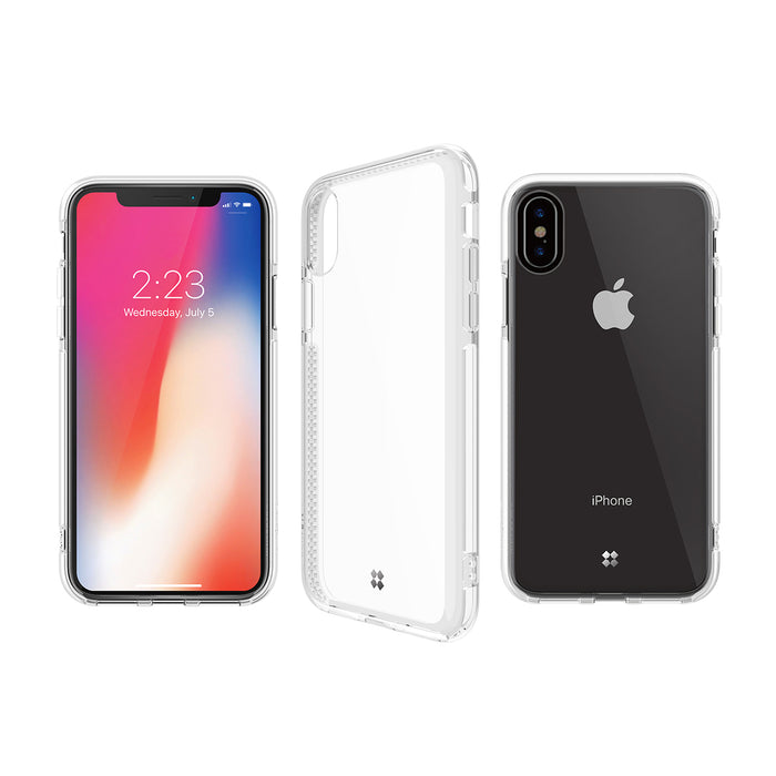 iPHONE X PRISMART IMPACT CASE: EXPLORER WHITE