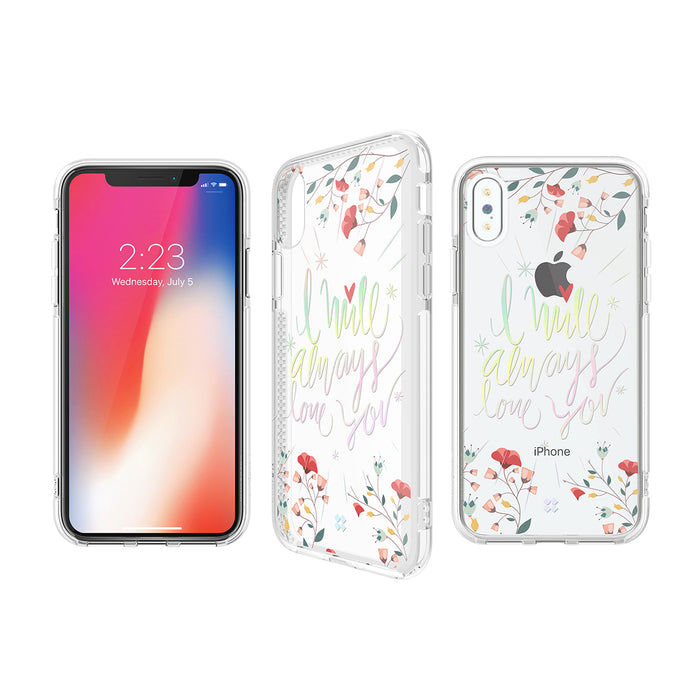 iPHONE X PRISMART IMPACT CASE: LOVE