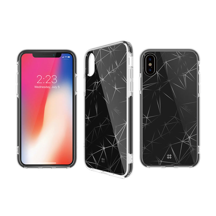 iPHONE X PRISMART IMPACT CASE: TRIPLE BLACK