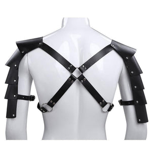 EMBRACE YOUR DARK SIDE faux leather armor
