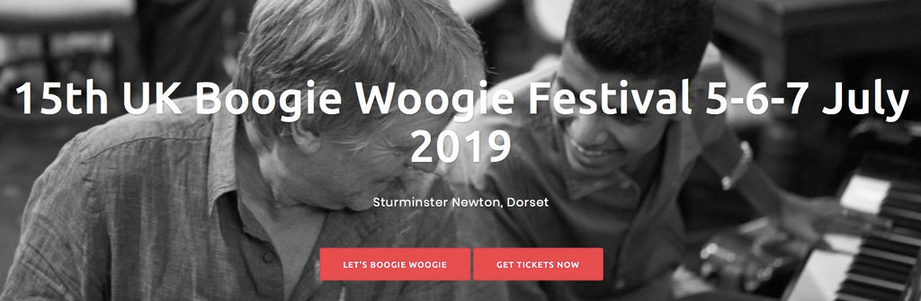 Boogie Woogie at the Sturminster Tea House