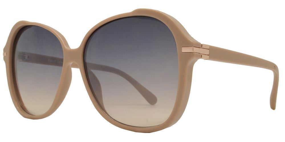 Dynasol Eyewear - Wholesale Sunglasses - FC 6358 - Classic Butterfly Women Plastic Sunglasses - sunglasses