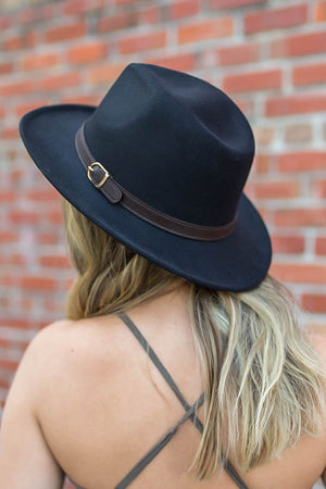 Eyes On Me Hat - Black - A Cut Above Boutique