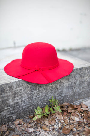 City Calls Hat - Red - A Cut Above Boutique