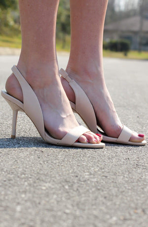 Liberty Nude Slingback - A Cut Above Boutique