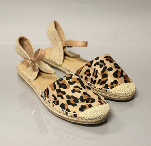 Leopard Espadrilles - A Cut Above Boutique