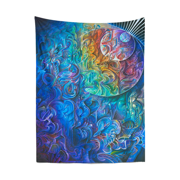 DAWN OF TRANSCENDENTAL JUBILANCE TAPESTRY
