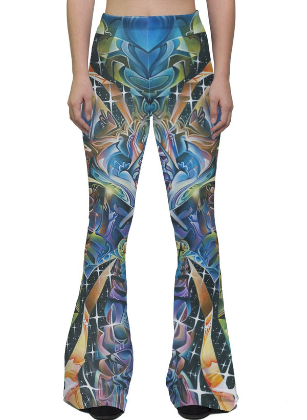 STAR PETALS BELL LEGGINGS