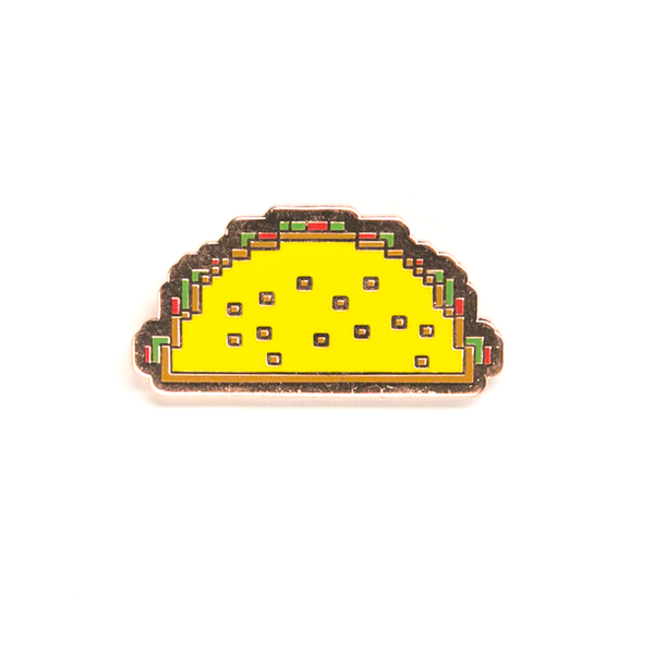 Digital Taco Pin