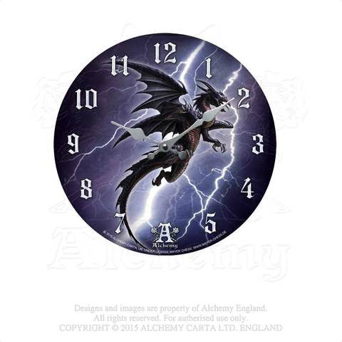 AAP11 - Lightening Dragon Clock by Alchemy of England