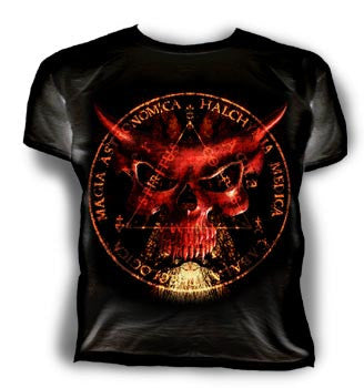 BT146 - Mask of the Devil T-Shirt Size L by Alchemy of England - Rare