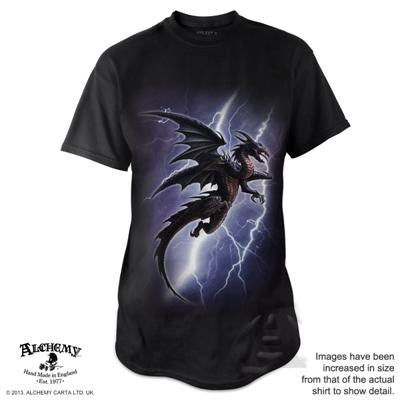 BT734 - Lightning Dragon T-Shirt by Alchemy of England