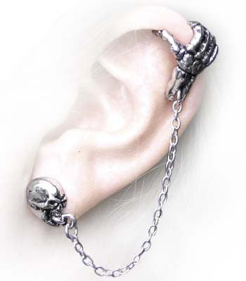 E278 - Mortal Remains Ear Cuff by Alchemy of England
