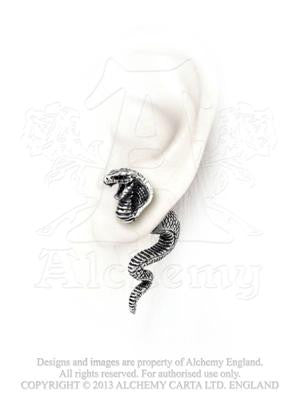 E337 - Cobra Life Force Earring by Alchemy of England