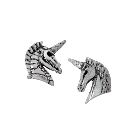 E411 - Unicorn Earrings by Alchemy of England