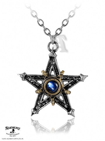 P124 - Medieval Pentangle Pendant by Alchemy of England