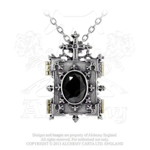 P341 - Orthodox Icon Locket by Alchemy of England