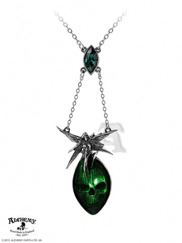 P526 - Absinthe Fairy Necklace By Alchemy of England