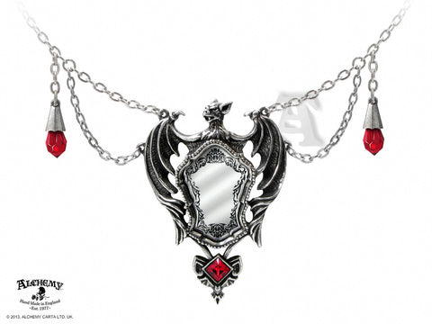 P660 - Drakul's Mirror Necklace by Alchemy of England